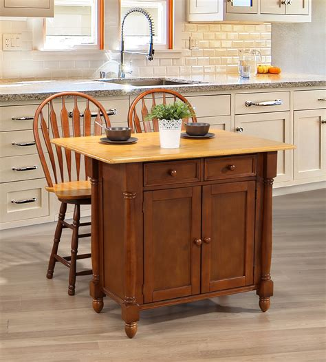 sunset trading kitchen island sunset trading sunset oak selections nutmeg kitchen island with light oak top reviews