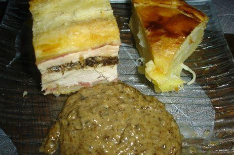 feuilletee de dinde sauce forestiere thermomix aux gourmandises de steph