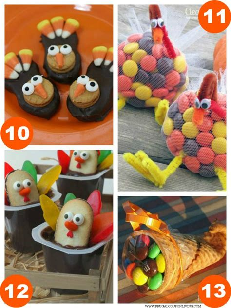 food craft ideas for 31 thanksgiving food craft ideas