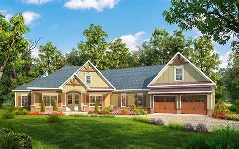 architectural plans for homes craftsman house plan with angled garage 36032dk architectural designs house plans