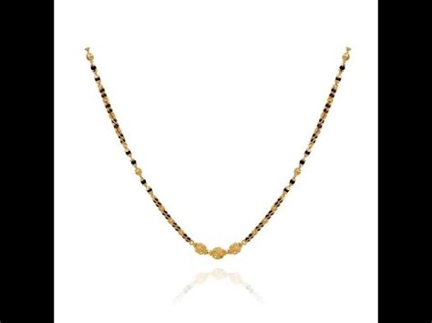 black gold chain models 22 carat gold black nallapusalu mangalsutra
