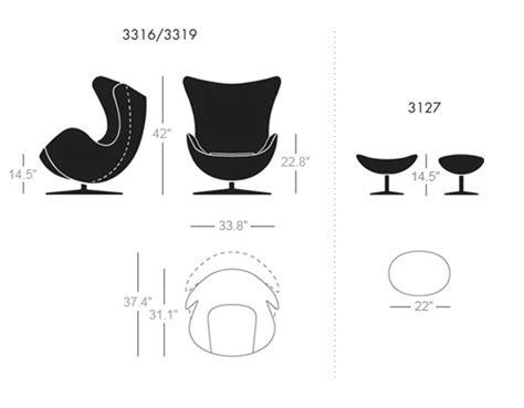 Arne Jacobsen Egg Chair   hivemodern.com