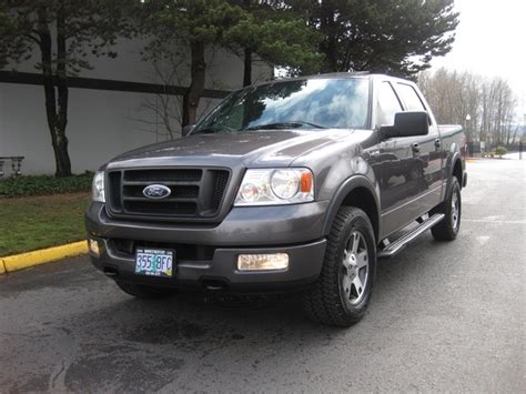 New Truck Styles by 2004 Ford F 150 Fx4 New Style Leather Moonroof