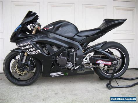 Yamaha Suzuki by Suzuki Gsxr 600 K6 Track Bike Honda Yamaha For Sale In
