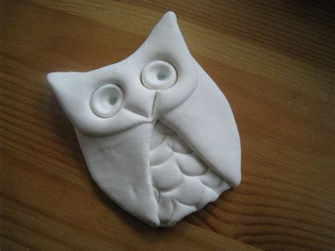 easy to make the new clay news make an easy owl with model magic