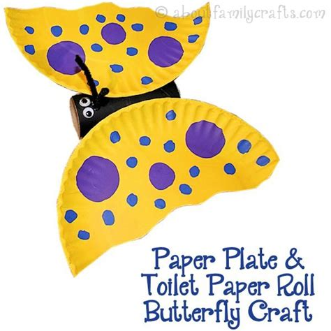 butterfly paper plate craft 51 toilet paper roll crafts do small things with