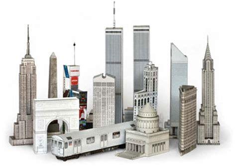 paper craft city build your own new york city papercrafts paperkraft net