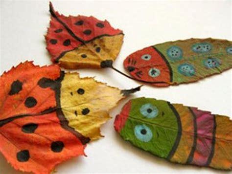 autumn craft ideas 15 cool applique ideas from autumn leaves kidsomania