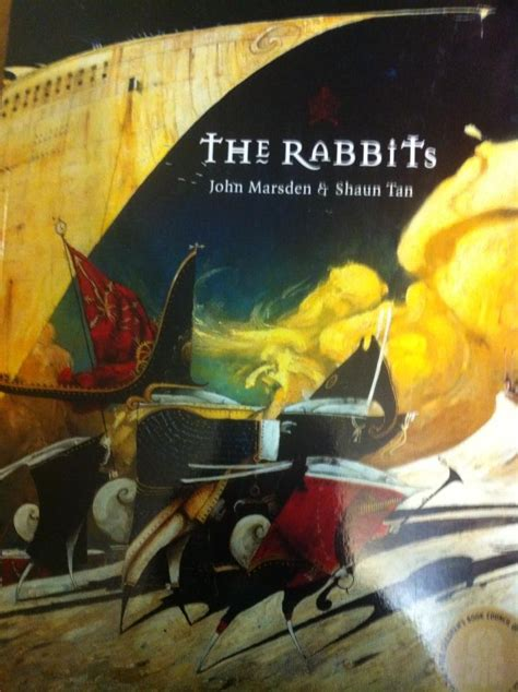 rabbits picture book visual language features of the rabbits children s