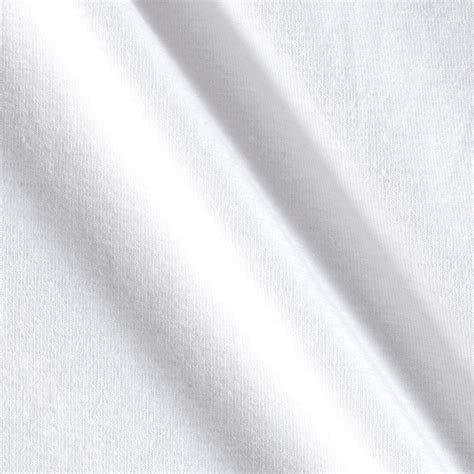 cotton jersey knit cotton jersey knit white discount designer fabric