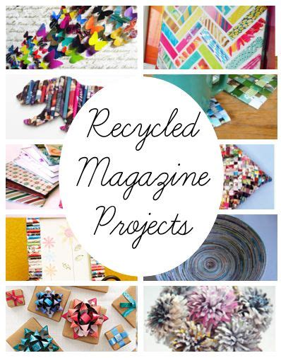recycled magazine crafts for 25 unique recycled magazine crafts ideas on