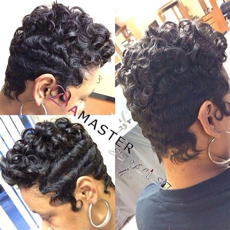 rods and finger wave hair styles 580 best short cuts bobs and weaves and other hairstyles