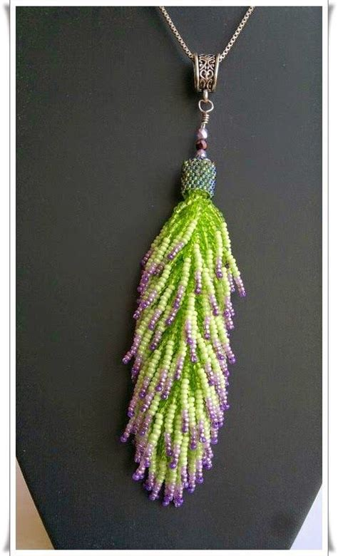 beaded tassel http wiosenna67 wire leather