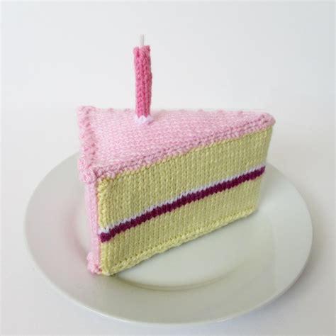 Birthday Cake Knitting Pattern By Amanda Berry Knitting