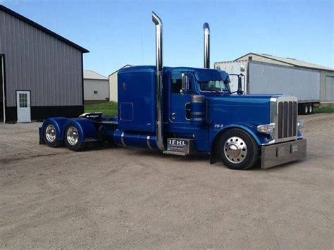 White Raider Deck by Blue Peterbilt Motors Etc Pinterest