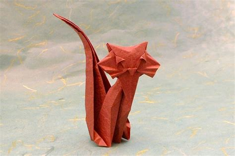 gilad origami origami cats 5 gilad s origami page
