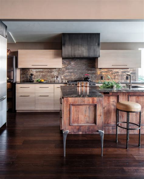 Island Style Kitchen Design rustic modern decor for country spirited sophisticates