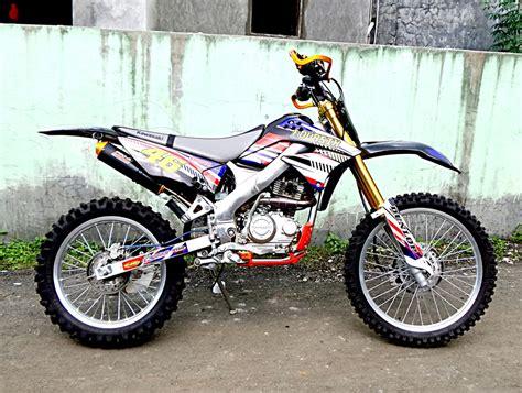 Modifikasi Motor Kawasaki by 40 Gambar Modifikasi Kawasaki Klx 150 Keren Terbaru
