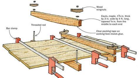woodworking cauls cling jigs finewoodworking
