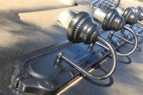 olive and 187 spray painting metal light fixture