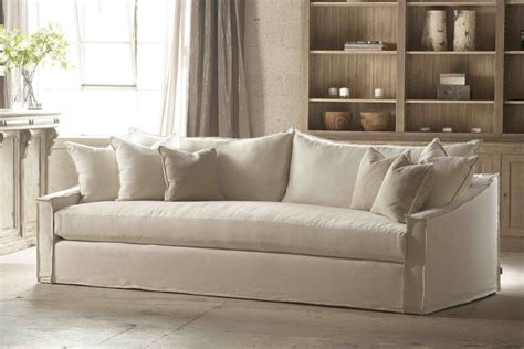 white slipcover for sofa comfortable white slipcovered sofa that brings