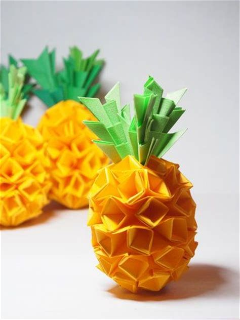 paper pineapple craft 25 best ideas about origami on diy origami