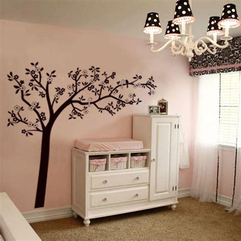Mural Wallpaper For Walls autocollant mural flore arbre amp oiseaux