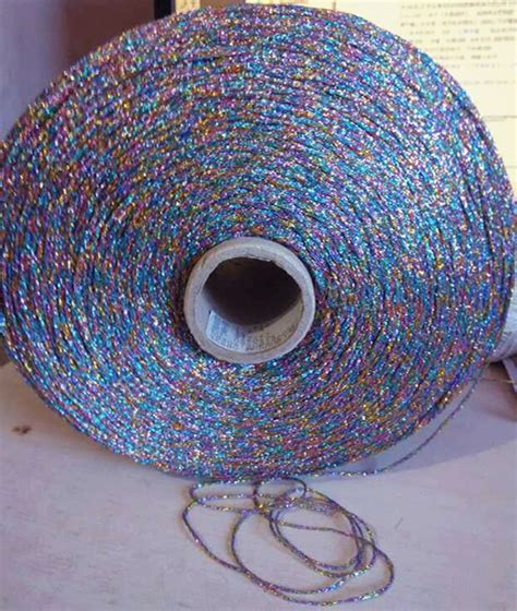knitting with sewing thread 200g lot silk cotton gold and silver silk knitting