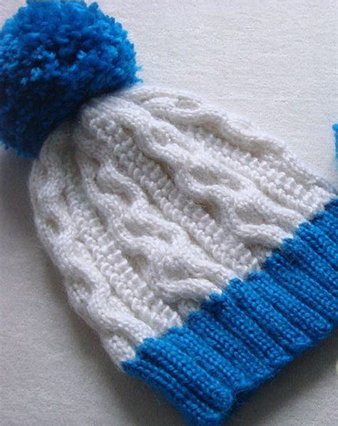 popcorn stitch knit popcorn stitch cable hat allfreeknitting
