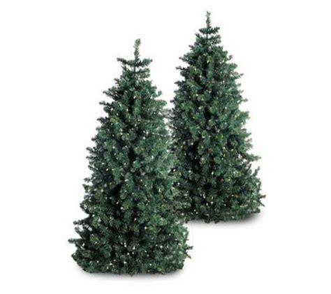 25 foot artificial tree 6 1 2 foot artificial pre lit tree qvc