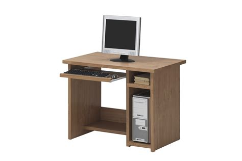 small wood computer desk