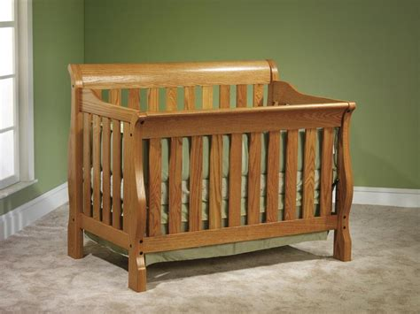 solid oak baby cribs solid wood cribs organic grace