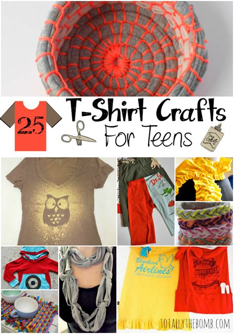25 T Shirt Crafts For