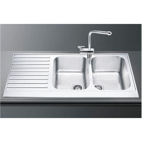 smeg lpd116s kitchen sink 2 bowls piano design smeg lpd116s kitchen sink 2 bowls piano design polished