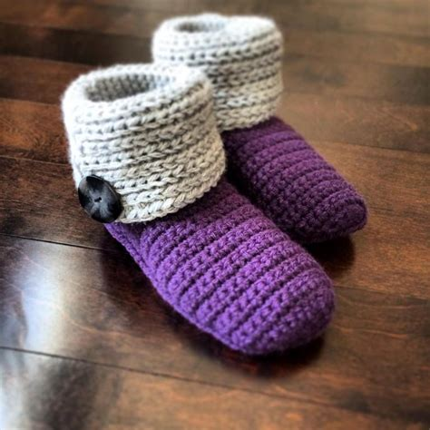 free knit slipper boot pattern quot knot knit quot slipper boots by pionk craftsy