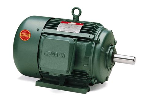 100 Hp Electric Motor by 100 Hp 1190 Rpm 444t Frame 460 Volts Tefc Leeson Electric