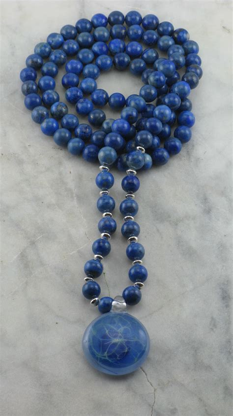 what are mala wind mala 108 lapis lazuli mala buddhist prayer