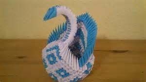 origami schwan 3d origami diamant schwan