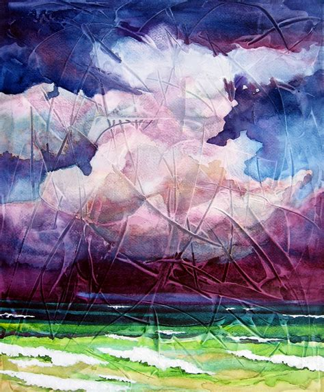 acrylic painting gesso watercolor on gesso leslie white
