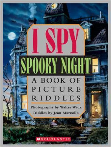 i spooky a book of picture riddles strictly letters in a wood can you see what