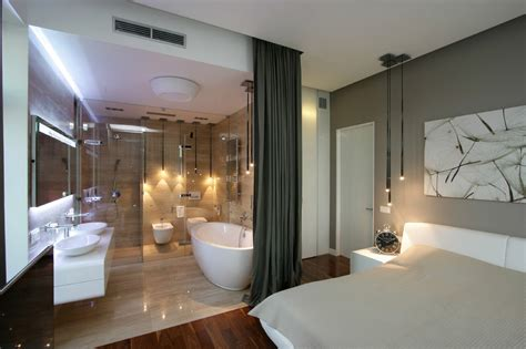 master bedroom and bathroom designs bedrooms with attached open bath decozilla