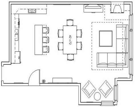 kitchen and living room floor plans modern living room floor plans for your guidance decor
