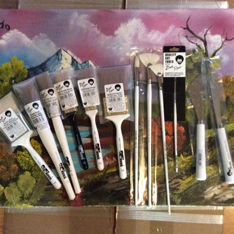bob ross painting utensils bob ross individual landscape brushes ebay