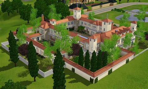 Where To Get House Blueprints sims 3 spanish villa by ramborocky on deviantart