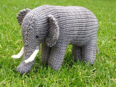 knitted elephant free pattern you to see elephant pattern on craftsy