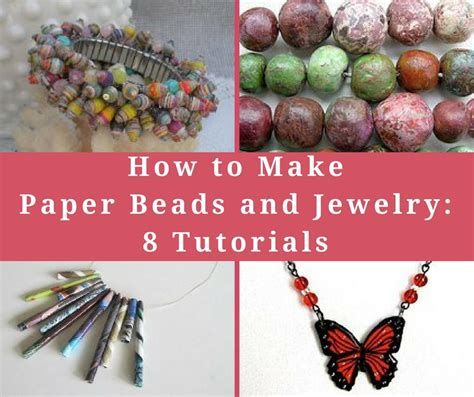 how to make paper jewelry how to make paper and jewelry 8 tutorials