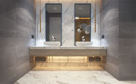 modern marble bathroom marble and brass bathroom interior design ideas