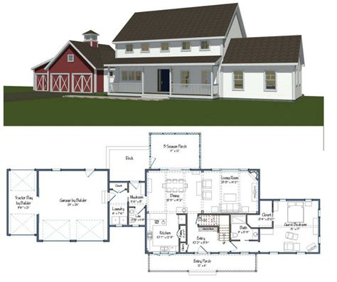 house building plans new yankee barn homes floor plans