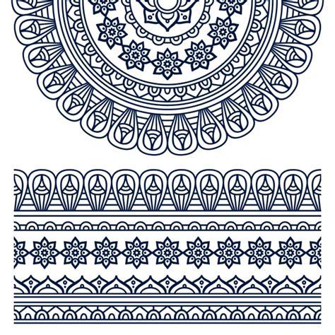 design a ornament boho style ornament design vector free