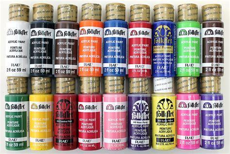 folk acrylic paint colors acrylic paint folkart liquitex craft assorted